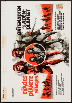 Escape from the Planet of the Apes 2105x3000