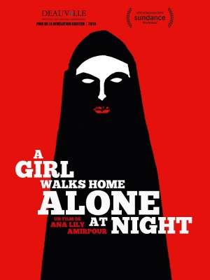 A Girl Walks Home Alone at Night 750x1000