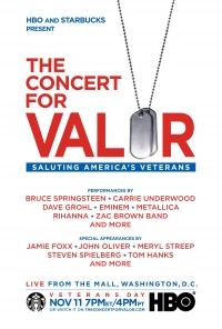 The Concert for Valor poster
