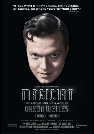 Magician: The Astonishing Life and Work of Orson Welles 3500x5000