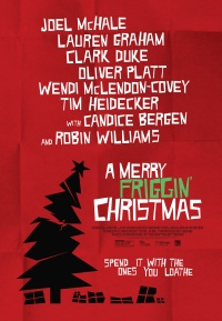 A Merry Friggin' Christmas poster