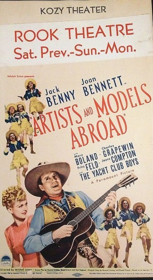 Artists and Models Abroad 436x800
