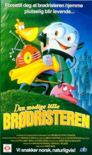 The Brave Little Toaster 340x573