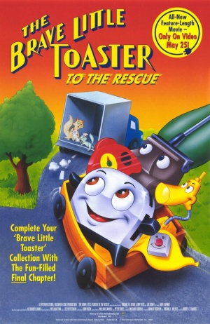 The Brave Little Toaster to the Rescue 580x894