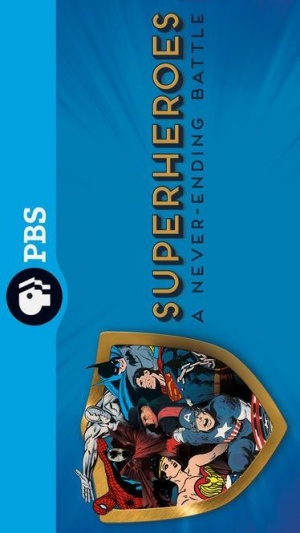 Superheroes: A Never-Ending Battle 374x665