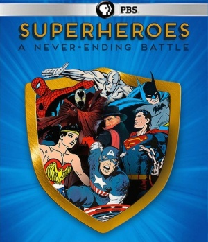 Superheroes: A Never-Ending Battle 808x939