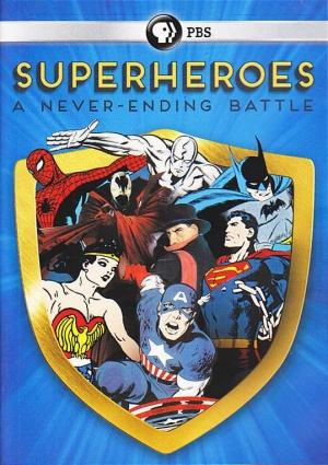 Superheroes: A Never-Ending Battle 539x763