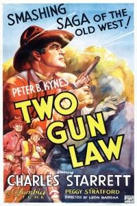 Two Gun Law poster