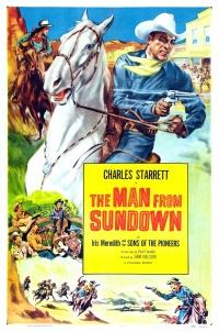 The Man from Sundown poster