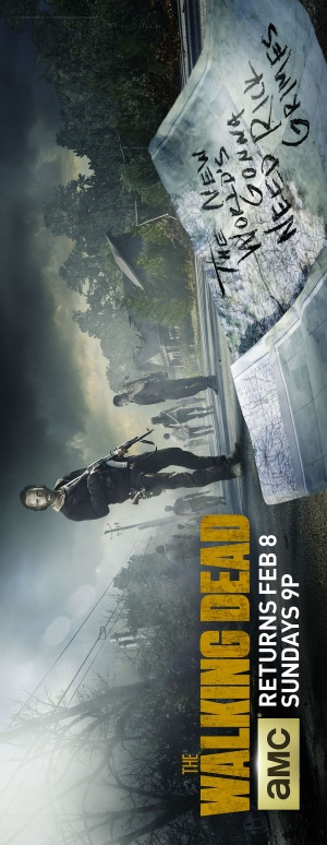 The Walking Dead 1396x3600
