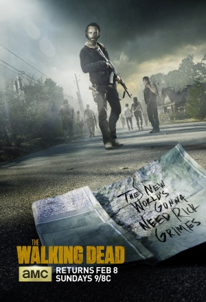 The Walking Dead 1396x2048