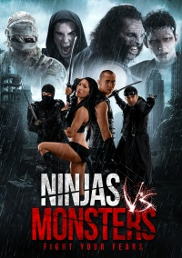 Ninjas vs. Monsters poster