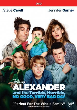Alexander and the Terrible, Horrible, No Good, Very Bad Day 1535x2175