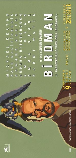 Birdman oder (Die unverhoffte Macht der Ahnungslosigkeit) 815x1679