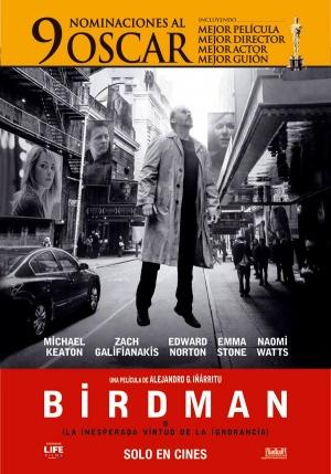 Birdman oder (Die unverhoffte Macht der Ahnungslosigkeit) 600x857