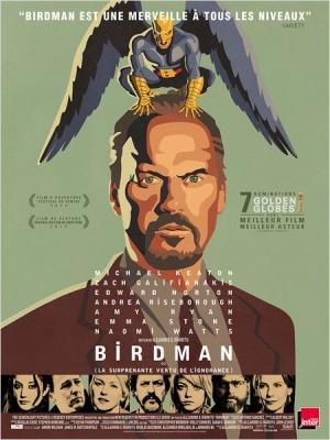 Birdman oder (Die unverhoffte Macht der Ahnungslosigkeit) 450x600