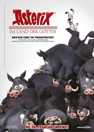 Asterix im Land der Götter 498x700