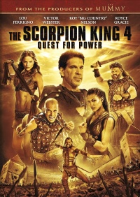 The Scorpion King 4 - Der verlorene Thron poster