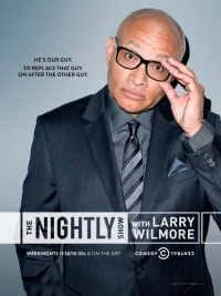 The Nightly Show with Larry Wilmore poster