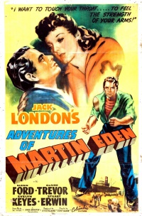 The Adventures of Martin Eden poster