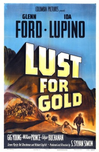 Lust for Gold poster