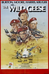The Wild Geese poster