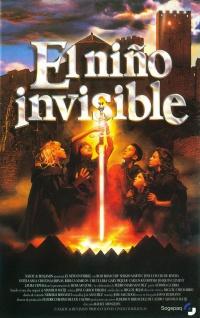 El niño invisible poster