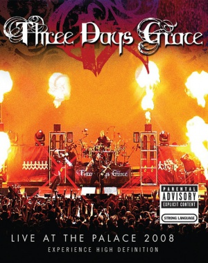 Three Days Grace: Live at the Palace 2008 630x797