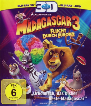 Madagascar 3: Europe's Most Wanted 1498x1743