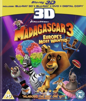 Madagascar 3: Europe's Most Wanted 1072x1257