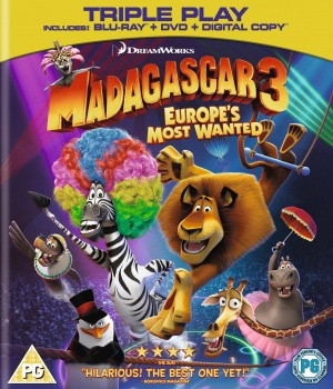 Madagascar 3: Europe's Most Wanted 1082x1264