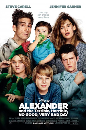 Alexander and the Terrible, Horrible, No Good, Very Bad Day 1000x1500