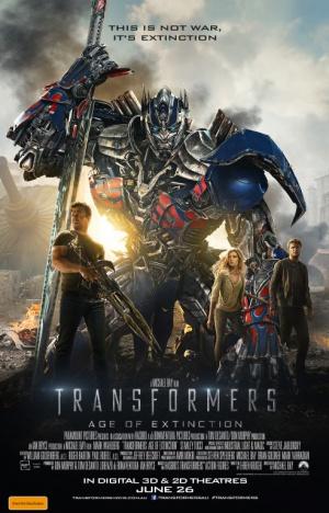 Transformers: La era de la extinción 492x768