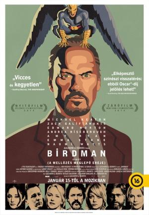 Birdman oder (Die unverhoffte Macht der Ahnungslosigkeit) 1389x2003