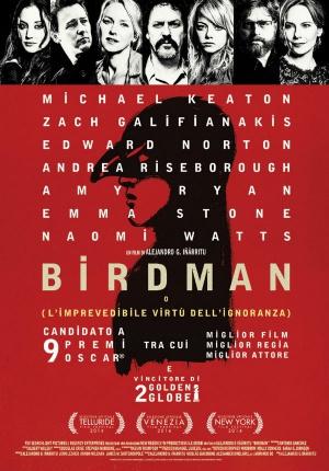 Birdman oder (Die unverhoffte Macht der Ahnungslosigkeit) 600x860