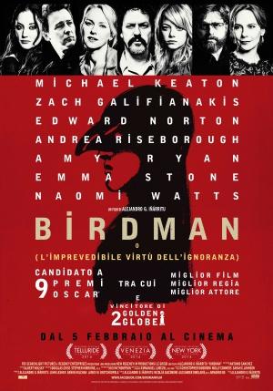 Birdman oder (Die unverhoffte Macht der Ahnungslosigkeit) 3500x5000