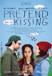 Pretend We're Kissing poster