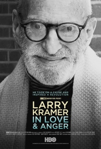 Larry Kramer in Love and Anger poster
