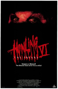The Howling VI poster