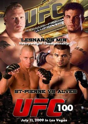 UFC 100: Lesnar vs. Mir 621x870