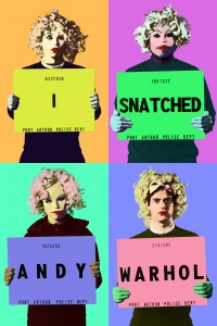I Snatched Andy Warhol poster