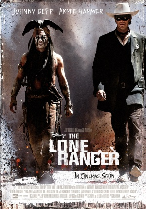 The Lone Ranger 3499x5000