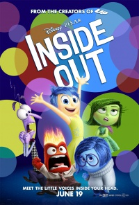 Del revés (Inside Out) poster