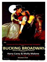 Bucking Broadway poster