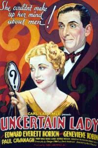Uncertain Lady poster