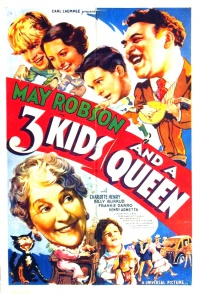 3 Kids and a Queen poster