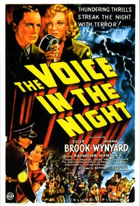 A Voice in the Night poster
