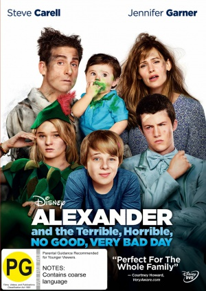 Alexander and the Terrible, Horrible, No Good, Very Bad Day 1134x1600