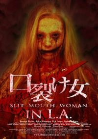 Slit Mouth Woman in LA poster
