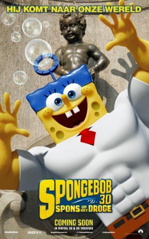The SpongeBob Movie: Sponge Out of Water 500x800